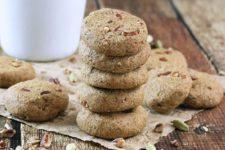 DIY ginger cardamom cookies