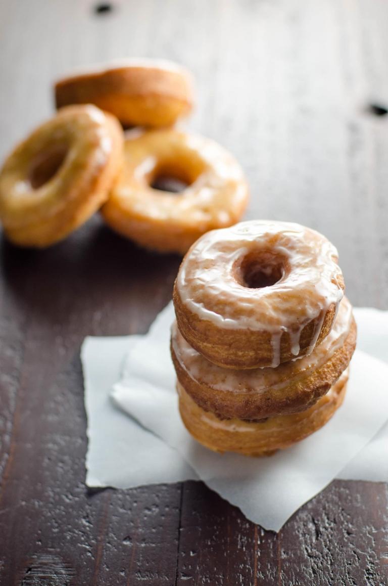 DIY glazed donuts with gingerbread spice (via umamigirl.com)