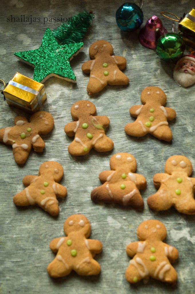 DIY gingerbread men cookies (via shailajaspassion.com)