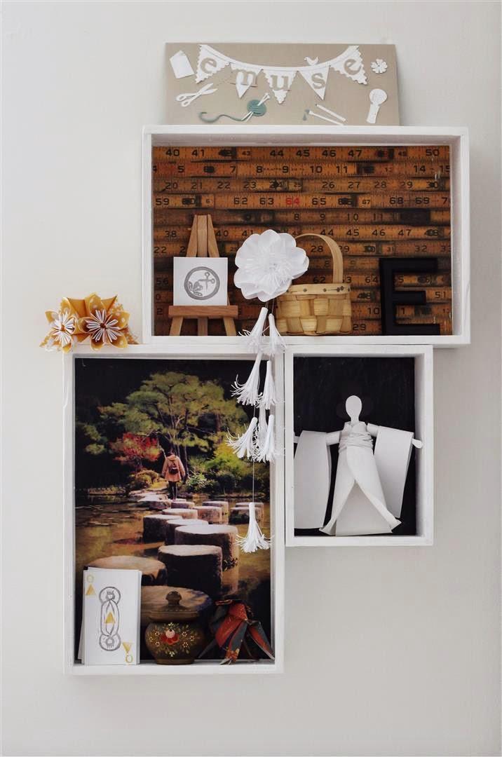 DIY storage and artwork shadow boxes (via emusing-emma.blogspot.ru)