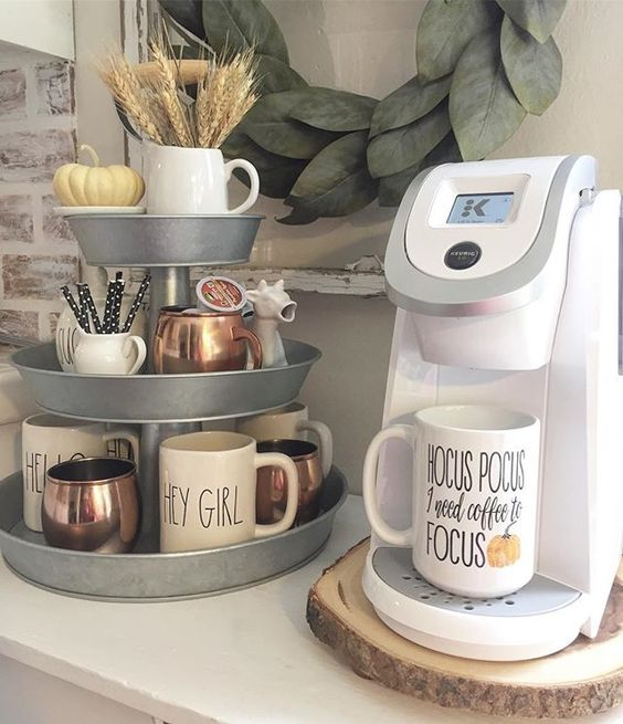 24 home coffee and tea station d cor ideas to try