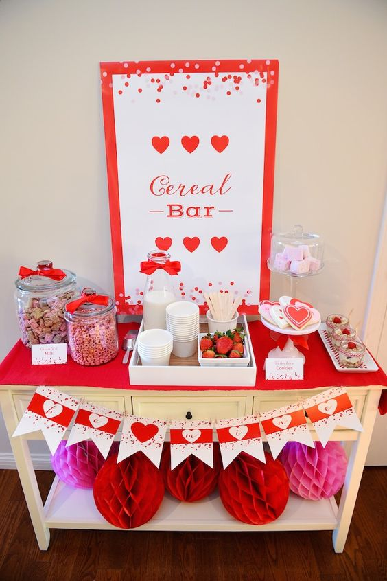 22 Cheerful And Bold Kids Valentine Party Ideas Shelterness