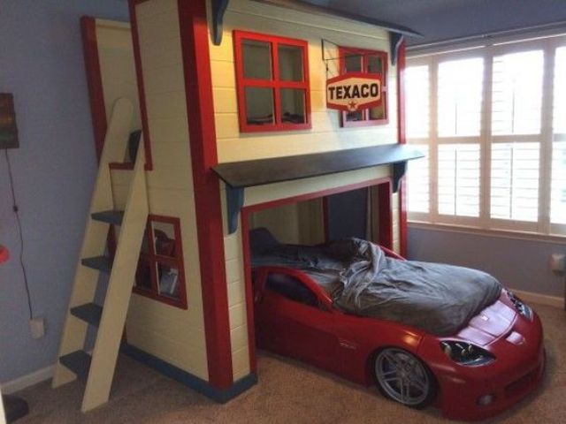 red race car bed is a stunning idea for every boy
