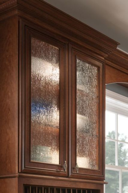 How To Insert Glass In Kitchen Cabinet Doors