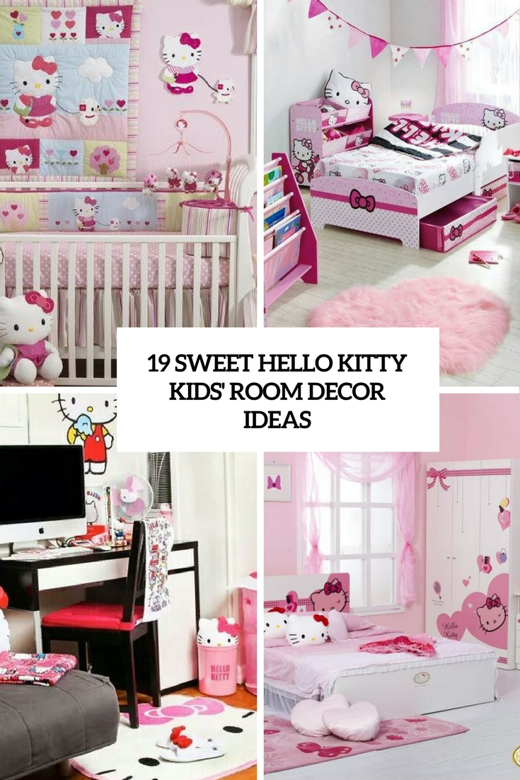 Awesome Sweet Hello Kitty Kids U Room D Cor Ideas