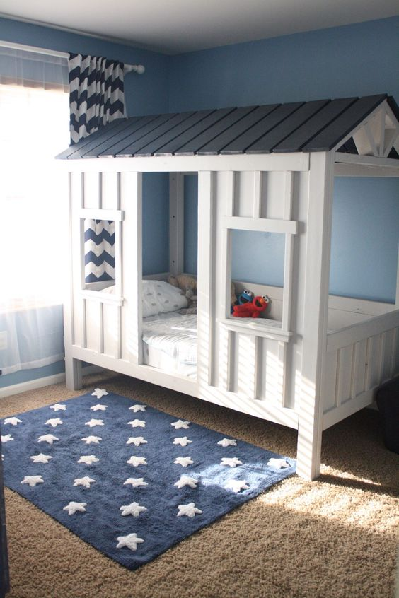 20 awesome boy beds that your son will love shelterness for Boys bedroom ideas uk