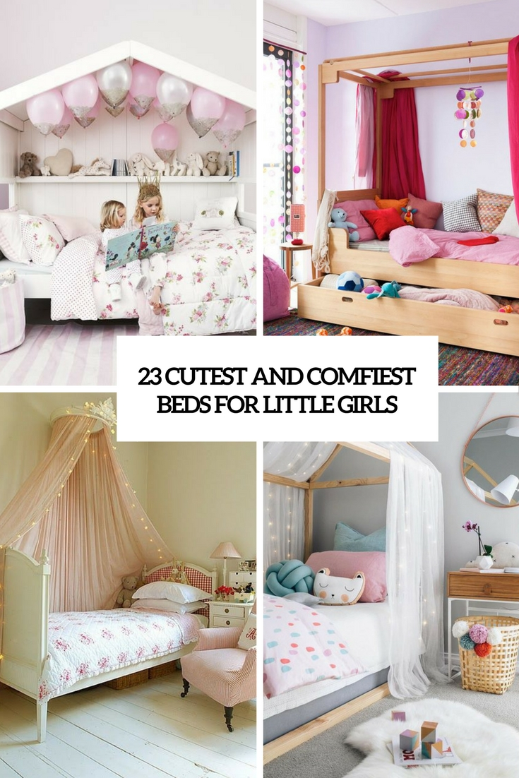 Picture of: 23 Cutest And Comfiest Beds For Little Girls Shelterness