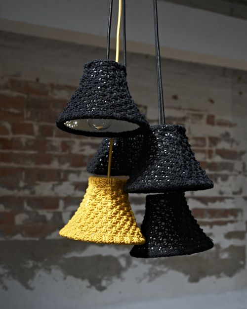 lamp covers in various shades for a cozy look and feel