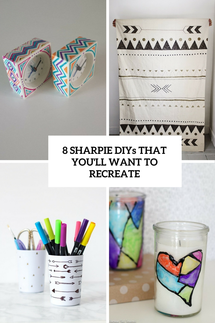8 Sharpie DIYs That You'll Want To Recreate