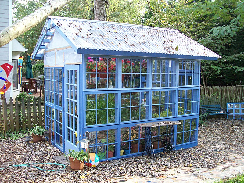11 Cool DIY Greenhouses With Plans And Tutorials - Shelterness