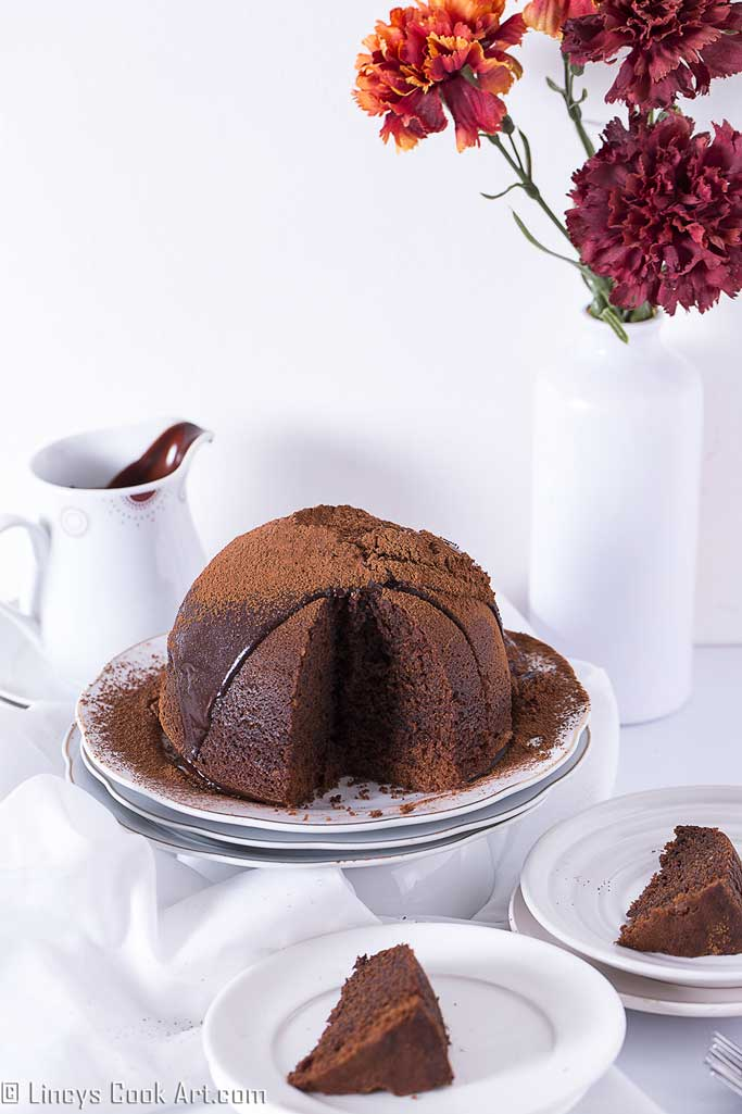 DIY steamed chocolate pudding (via www.lincyscookart.com)