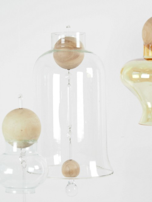 DIY Japanese styled glass wind chimes