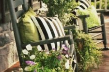 02 your chairs can hold greenery and flower arrangements