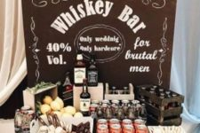 03  a whiskey bar is a must for a 50th birthday party