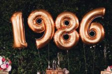 03 gilded balloons ith birth year or even date
