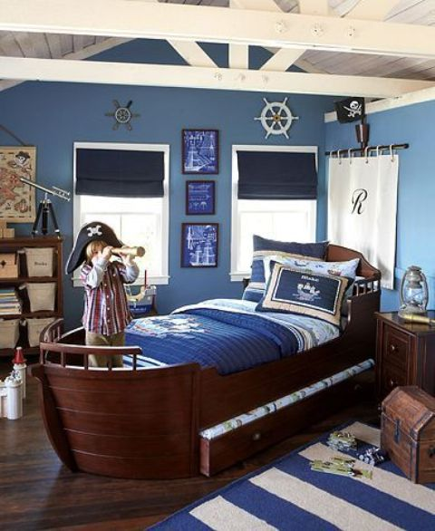 real ship bed for little pirates