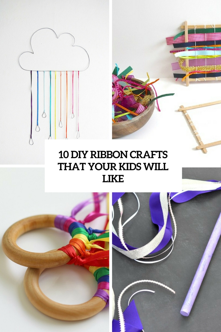 diy ribbon crafts that your kids will like cover