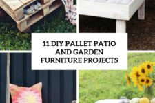 11 diy pallet patio and garden furniture projects cover