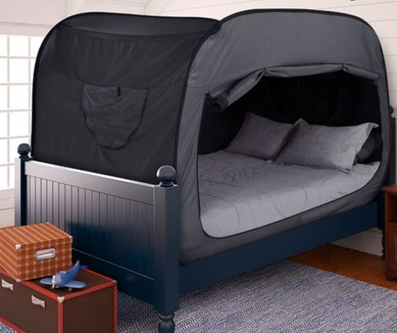 a tent bed will give your kid some private space