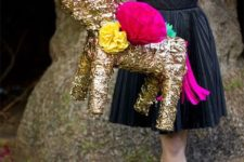 12 sparkly pinata is a great idea for a 30th birthday party