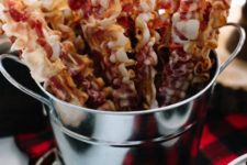 14 bacon skewers will be a perfect appetizer