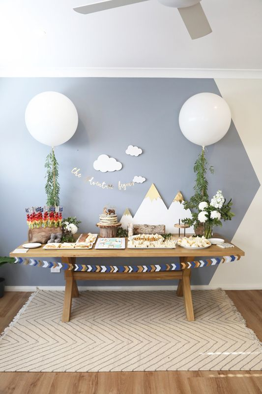 Cute balloon decorations for baby showers shelterness