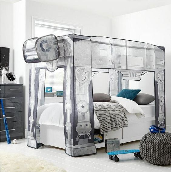 Star Wars AT-AT bed for little fans