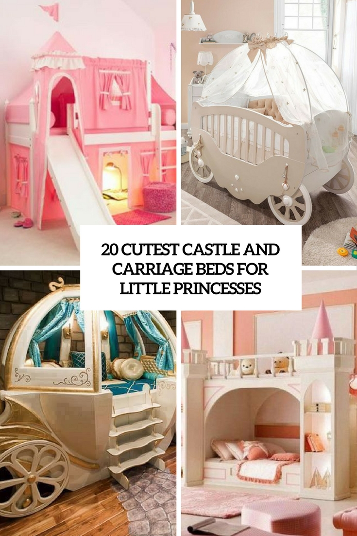 cutest castle and carriage beds for little princesses cover