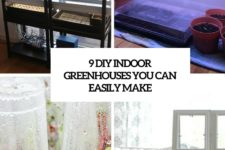9 diy indoor greenhouses you can easily make cover