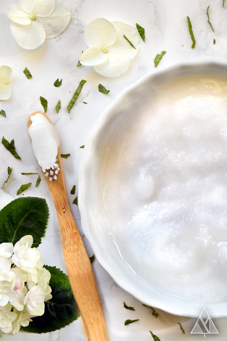 DIY all-natural toothpaste (via www.thelittlepine.com)