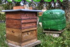 DIY bee hive wrap cocoon