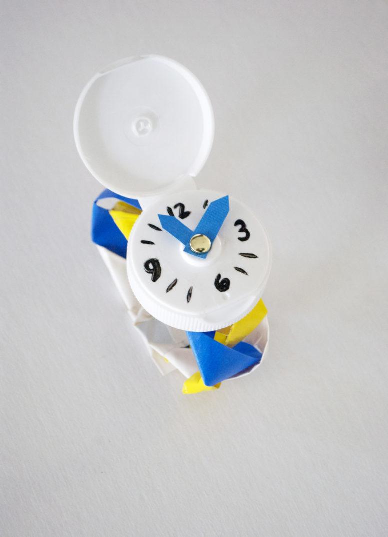 DIY Duct Tape Watch Via Mermagblog