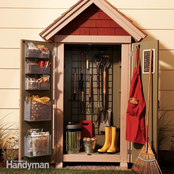 DIY garden storage shed project (via https:)