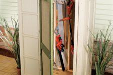 DIY small storage shed