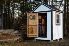 DIY simple garden shed from scratch