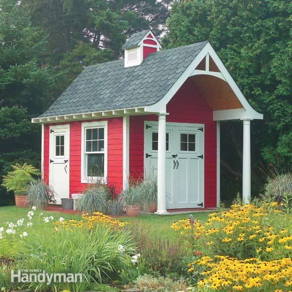 DIY schoolhouse garden shed (via https:)