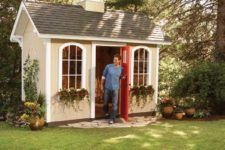 DIY cheap storage shed