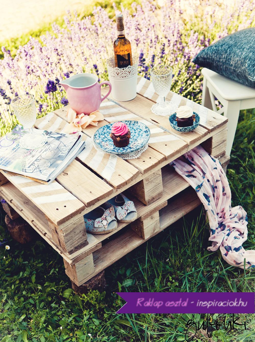 DIY pallet pinic table