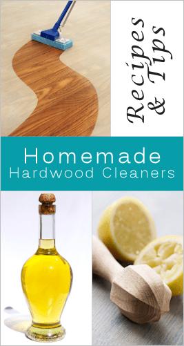 how to clean wooden floors (via tipnut.com)