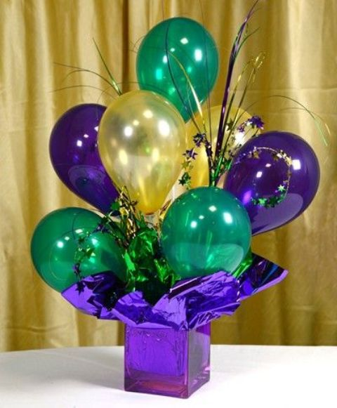 19 Cute And Sweet Balloon Centerpieces For Baby Showers - Shelterness