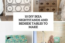 10 diy ikea nightstands and bedside tables to make cover