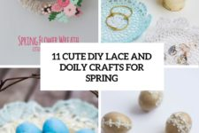 11 cute diy lace and doily crafts for spring cover