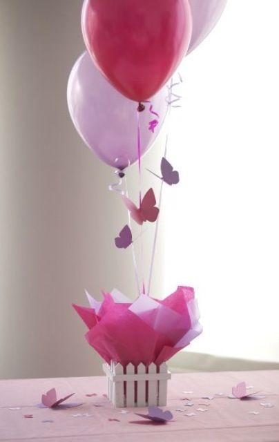 balloon baby shower decor