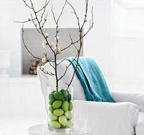 modern ombre Easter eggs in bold shades
