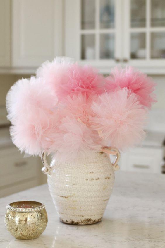 20 Cutest Girl S Baby Shower Centerpiece Ideas Shelterness