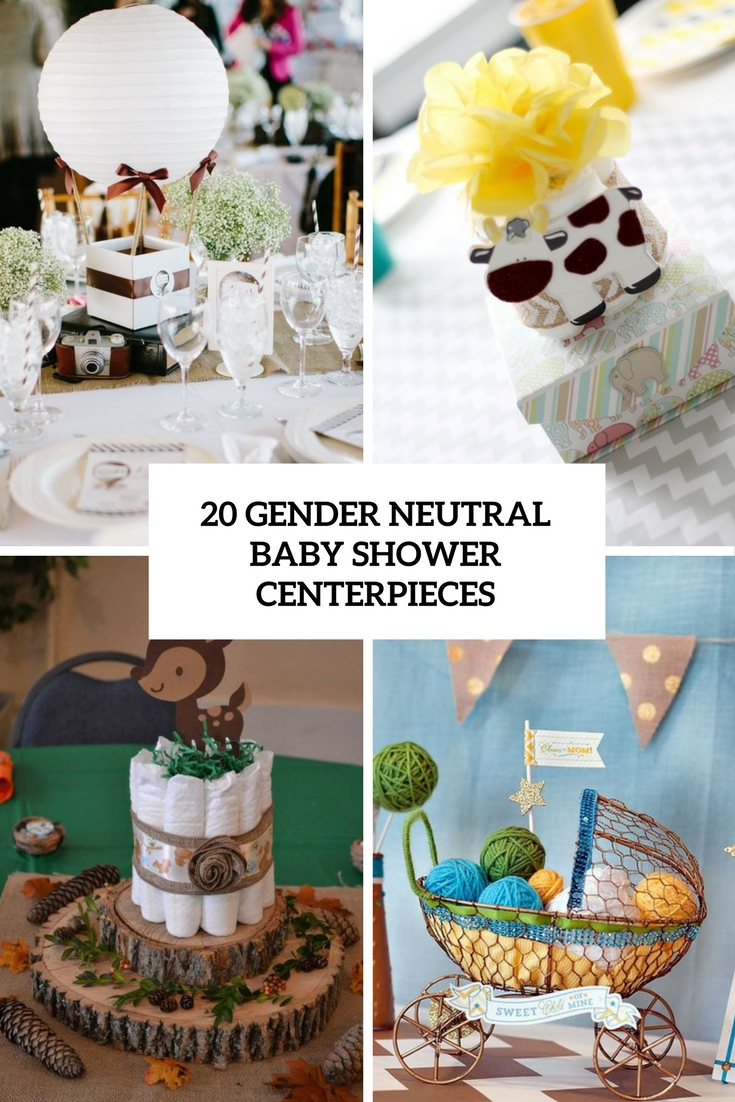 gender neutral baby shower centerpieces cover