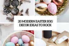 20 modern easter egg decor ideas to rock cover