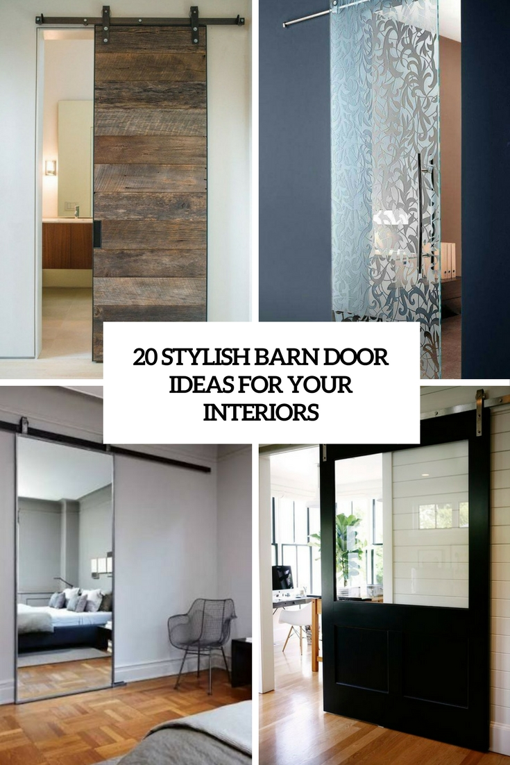 stylish barn door ideas for your interiors cover
