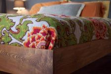 DIY king size slat bed
