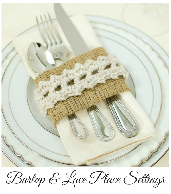 DIY burlap and lace napkin ring for Easter (via www.petalstopicots.com)
